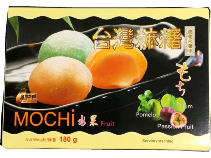 mochi fruit mix