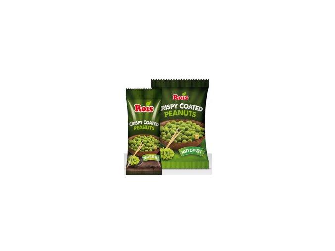 arašídy wasabi