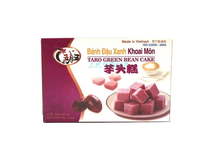 fazolové kostky taro