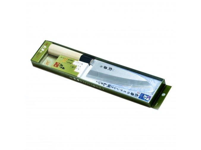 Nůž Santoku 165 mm FC-79 dřevěná rukojeť
