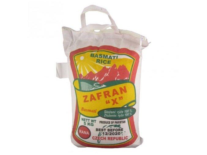 basmati rýže zafran 5kg