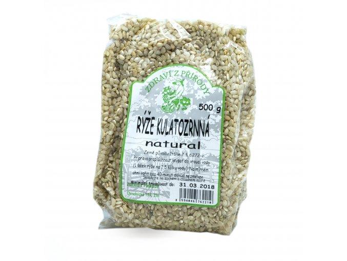 rýže kulatozrnná nat.