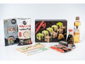 startovací set na přípravu sushi